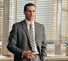 John Hamm as Don Drapper, Mad men