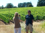 Lisa filming Keth Hock w/FlipHD at Keefer Vineyard