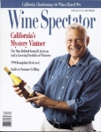 Vintner Jess jackson on the cover of the Wine Spectator