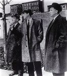 Naked City Detectives, Harry Bellaver, Paul Burke, & Horace McMahon