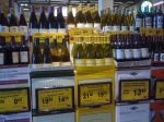 Safeway Cut Case Wine Display w/Sale pricing