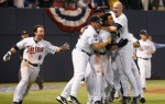 Twins beat Tigers in one game playoff 2009